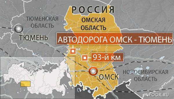 Трасса Омск - Тюмень