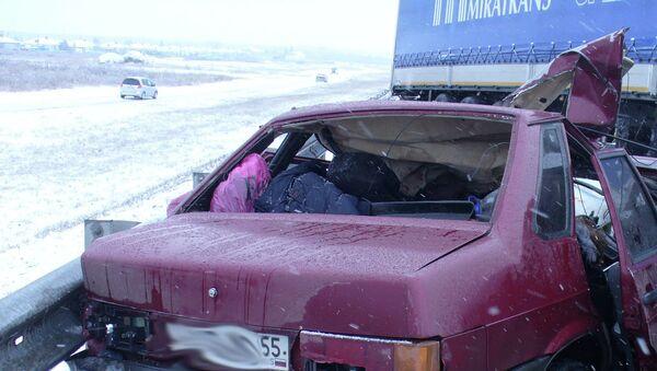 ДТП в Омской области