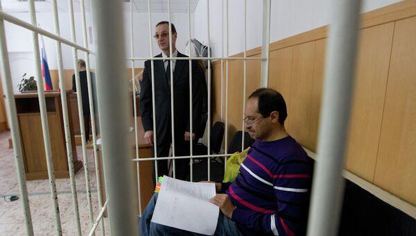Томский бизнесмен Игорь Иткин в суде, архивное фото