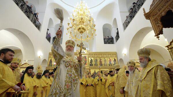 Патриарх Кирилл освятил Горенский женский монастырь в Иерусалиме