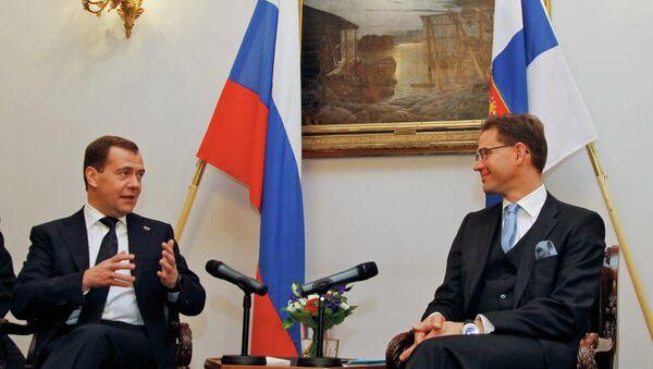 Рабочий визит Д.Медведева в Финляндскую Республику