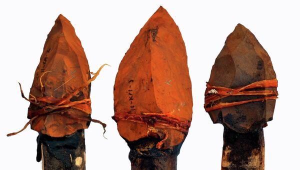 Наконечники копий, изготовленные 500 тысяч лет назад