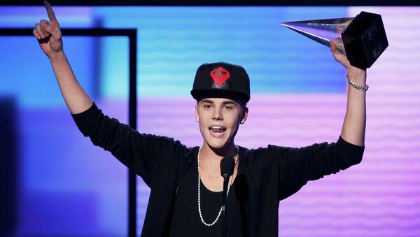 Джастин Бибер получил музыкальную премию American Music Awards