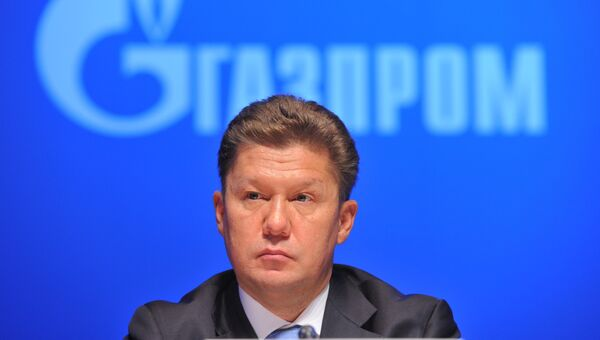 Председатель правления ОАО Газпром Алексей Миллер. Архив