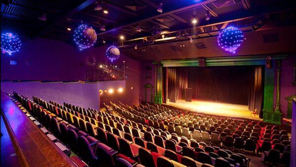 Зрительный зал театра Лицедеи в Санкт-Петербурге