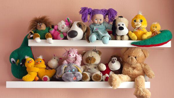 Детские игрушки. Архивное фото.