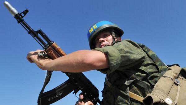 Учения Оперативной группы российских войск. Архивное фото