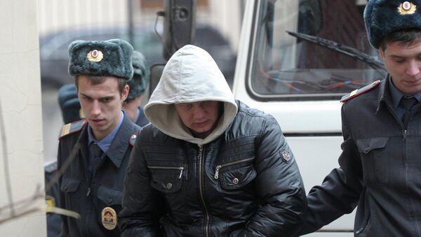 Александр Максимов, обвиняемый в ДТП на Минской улице в Москве