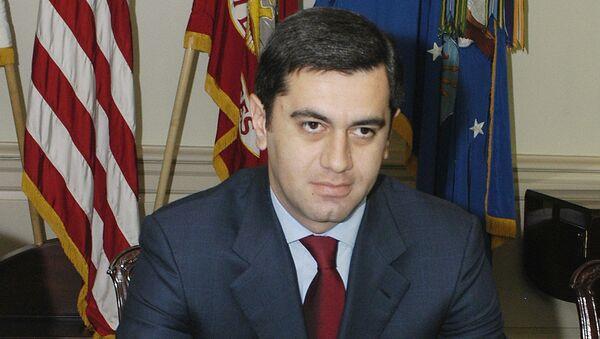 Экс-министр обороны Грузии Ираклий Окруашвили. Архивное фото