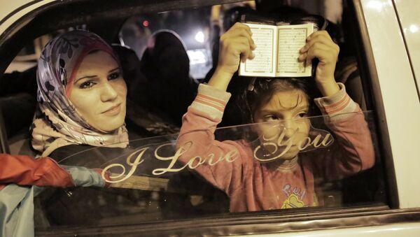 Перемирие между палестинскими группировками сектора Газа и Израилем. Архив