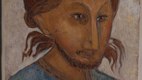 В.А.Комаровский. Портрет о. Павла Флоренского. 1924 г.