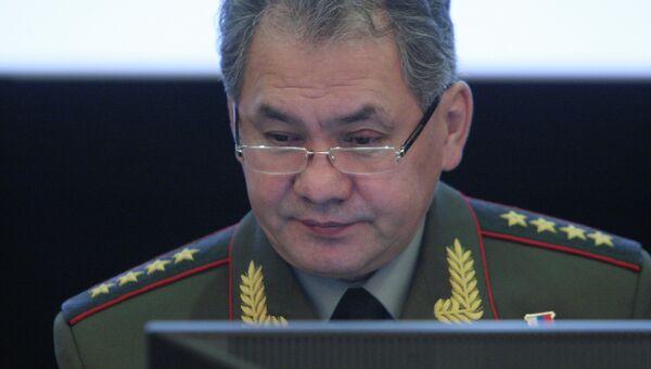 Министр обороны России Сергей Шойгу. Архив