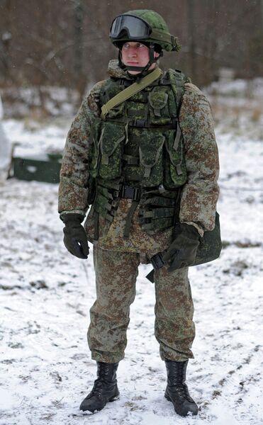 Новая боевая экипировка для военнослужащих сухопутных войск