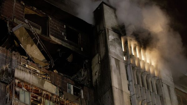 Взрыв бытового газа в жилом доме в Томске. Архив