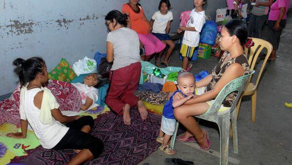 Эвакуация на Филиппинах