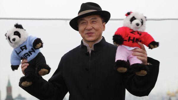 Китайский актер Джеки Чан