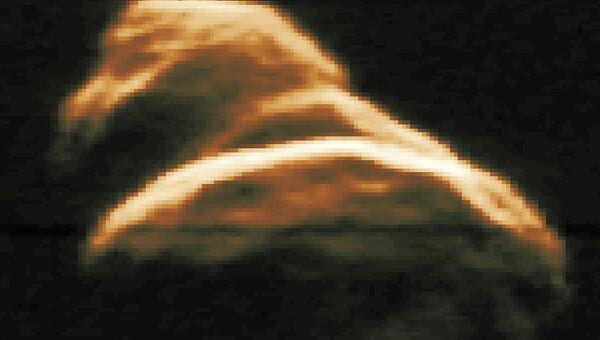 Радарный снимок астероида Таутатис (4179 Toutatis), сделанный в 1992 году