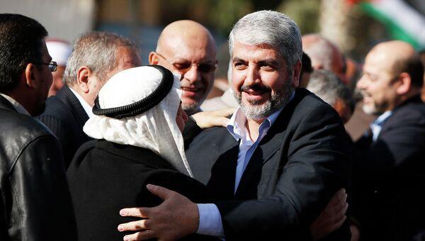 Глава политбюро ХАМАС Халед Машааль прибыл в сектор Газа