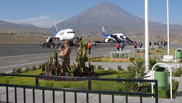 Аэропорт города Арекипа, Перу