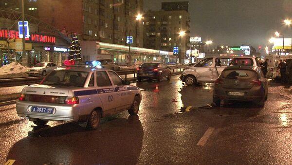 Разбойное нападение на Звенигородском шоссе в Москве