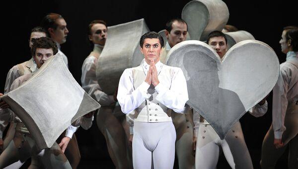 Николай Цискаридзе в сцене из балета Пиковая дама. Архивное фото