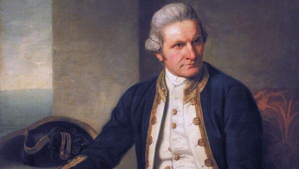 Портрет Джеймса Кука, 25 мая 1776 года. Художник Натаниэл Дэнс