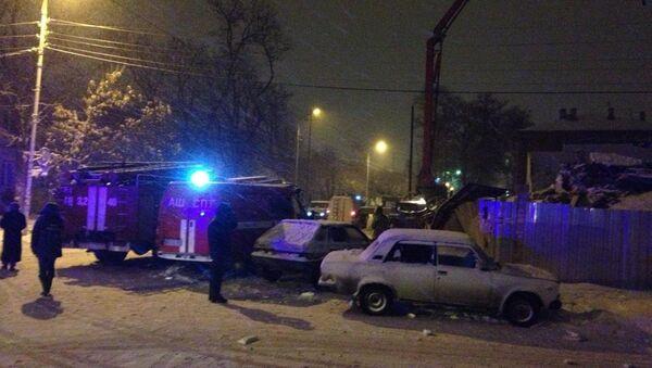 Строящееся здание рухнуло в Таганроге, есть жертвы