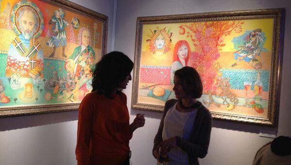 Открытие Салона изящных искусств в Москве