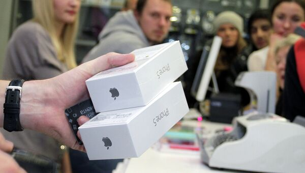Продажа продукции Apple в России, архивное фото