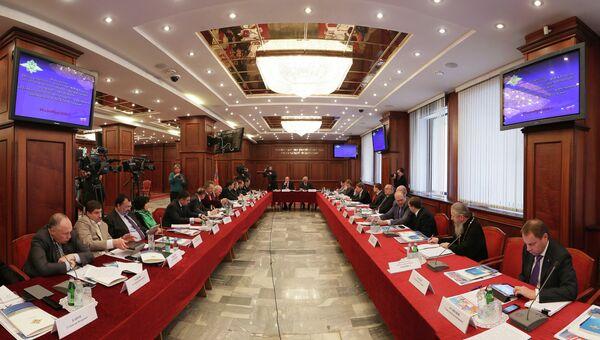 Заседание общественного совета при МВД России, архивное фото