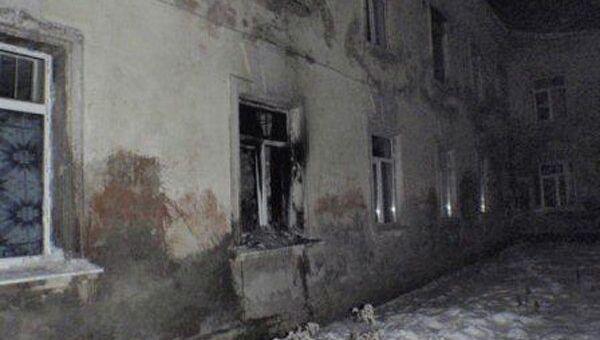 Психоневрологический диспансер г. Белева, где произошел пожар