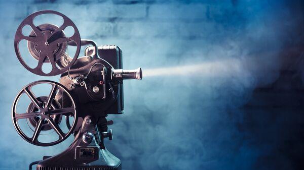 Кинопроектор, архивное фото