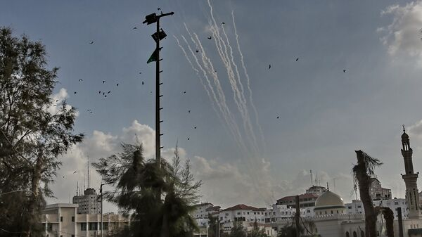 Ракеты, выпущенные с территории Газы
