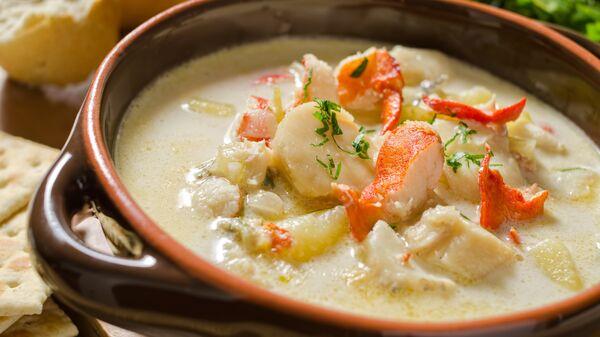 Суп из лобстера