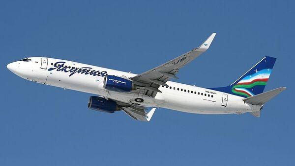 Самолет авиакомпании Якутия. Архивное фото