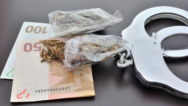 Конфискация наркотических средств. Архивное фото