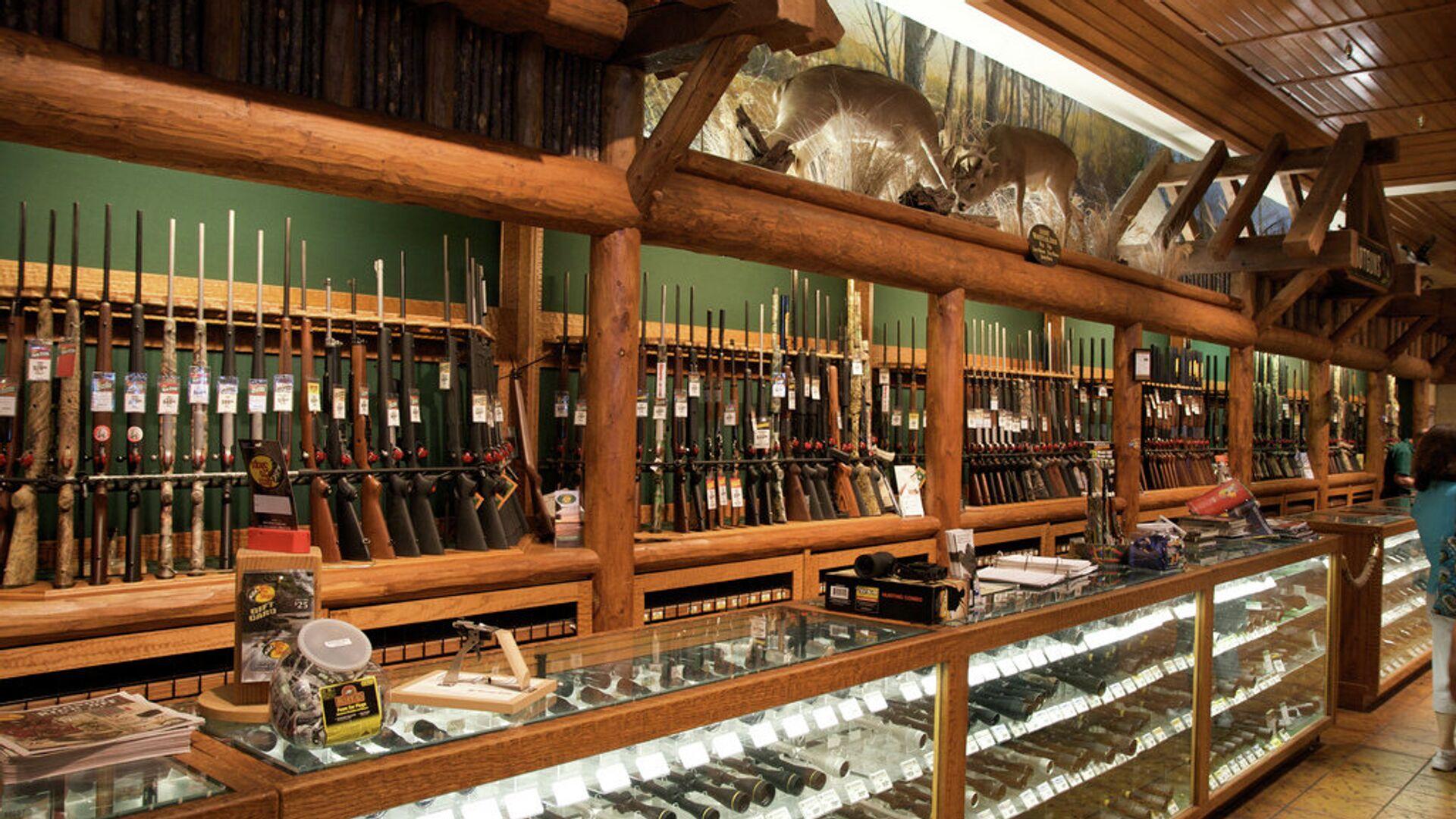 Продажа оружия в США - РИА Новости, 1920, 05.06.2021
