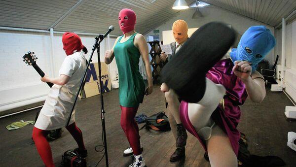 Кадр из фильма Pussy Riot: Панк-молитва. Архивное фото