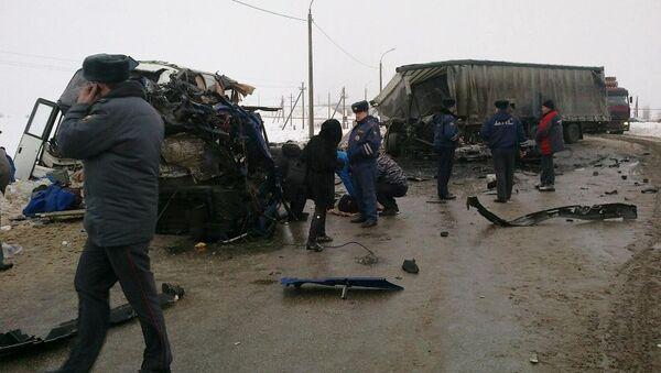 На трассе «Самара-Ульяновск» произошло ДТП с участием пассажирского автобуса