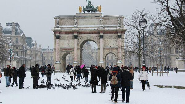 Ситуация в Париже. Архивное фото