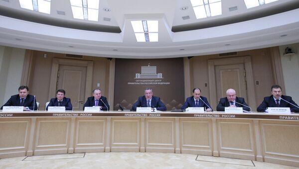 Совещание Военно-промышленной комиссии при правительстве РФ
