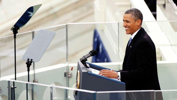 Торжественная инаугурация Обамы