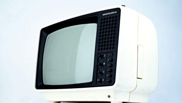 Приёмник телевизионный черно-белого изображения Юность-406 Д,
