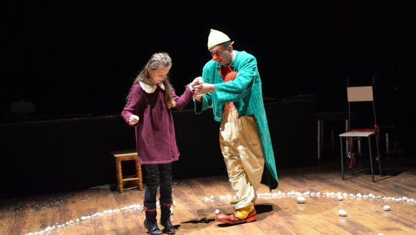 Сцена из спектакля в «Театриуме на Серпуховке». Архивное фото