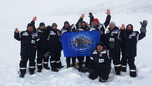 Исследователи РГО на полюсе холода. Архивное фото