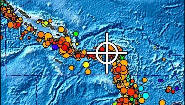 Предупреждения о цунами в Тихом океане