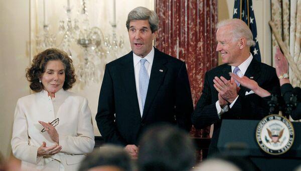 Повторная присяга Джона Керри на пост госсекретаря США