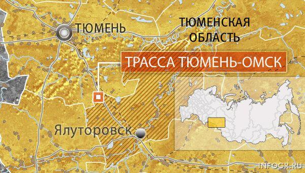 Трасса Тюмень-Омск