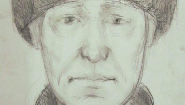 Фоторобот преступника, причастного к гибели девочки в Иркутской области