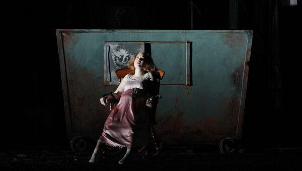 Сцена из оперы Пеллеас и Мелизанда